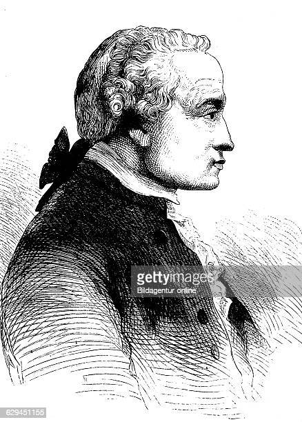 Immanuel kant 1724 1804 a german philosopher of the enlightenment one of the most important representatives of western philosophy historical wood...