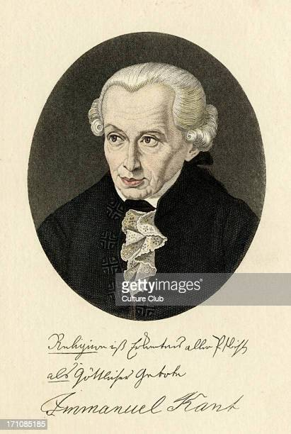 Immanuel Kant German Prussian Russian philosopher 22 April 1724 12 February 1804
