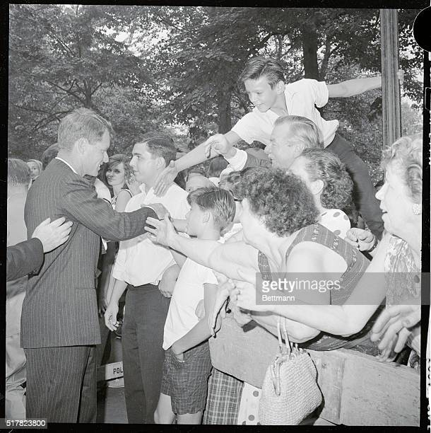 Immediately after announcing his candidacy for the Democratic nomination for U S Senator from New York Robert F Kennedy the United States Attorney...