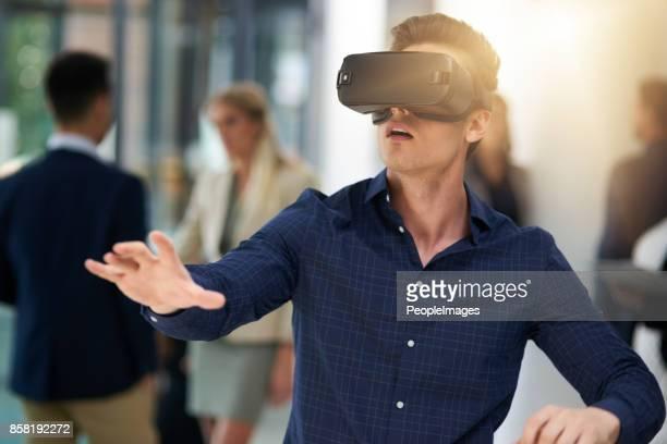 Eingebettet in eine virtuelle Welt
