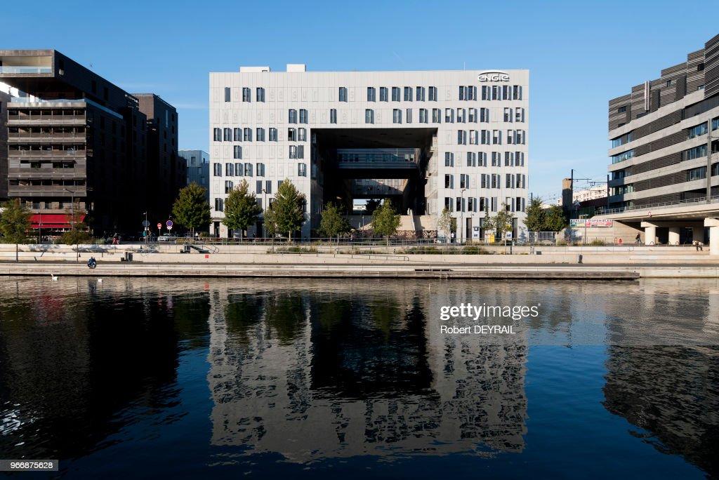 Quartier de bureaux stock fotos und bilder getty images