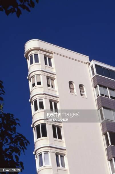 Immeuble résidentiel d'architecture art déco à Sydney en 2000 Australie