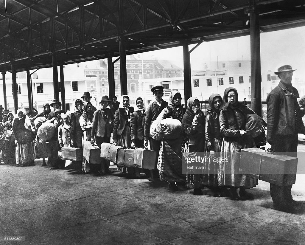 Image result for immigrants on ellis island
