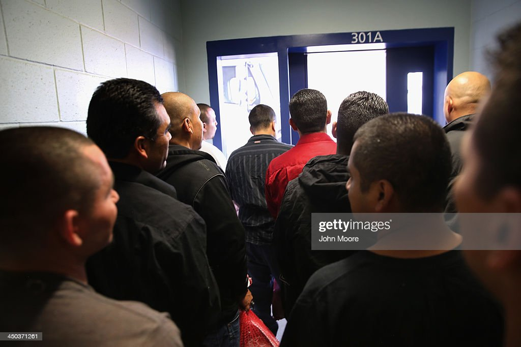 ICE Holds Immigrants At Adelanto Detention Facility : News Photo