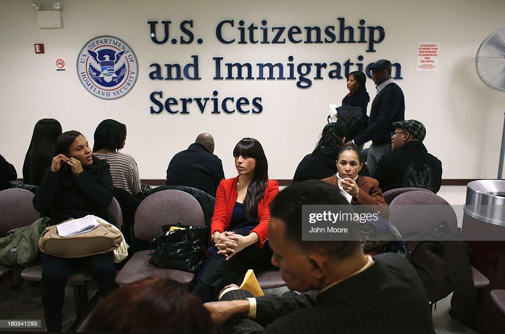 Children Receive U.S. Citizenship Certificates In New York : News Photo