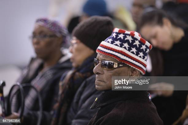 Immigrants wait to receive assistance to complete their U.S. Citizenship applications at a Citizenship Now! event held in the Bronx on March 4, 2017...