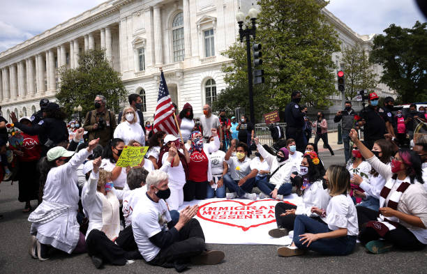 DC: Immigration Rights Activists Demonstrate In Washington, D.C.