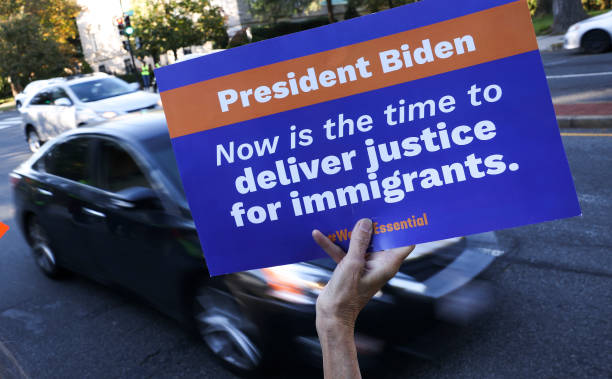 DC: Rally Held At VP Residence In Support Of Citizenship For Undocumented Immigrants