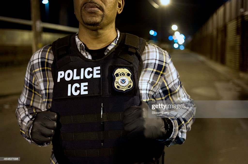 Immigration & Customs Enforcement (ICE) Agents Work At Border Ahead Of Possible DHS Shutdown : News Photo