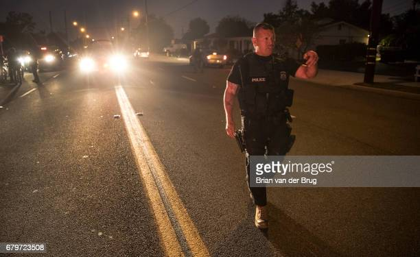 DOWNEY CALIF TUESDAY APRIL 18 2017 Immigration and Customs Enforcement field office director on a Downey street after taking Mexican national...