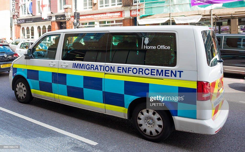 Immigration Enforcement : Stock Photo