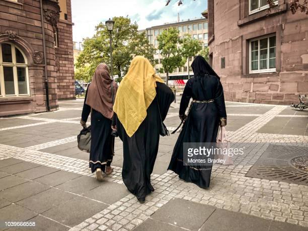 immigration in europe - islamophobia stock pictures, royalty-free photos & images