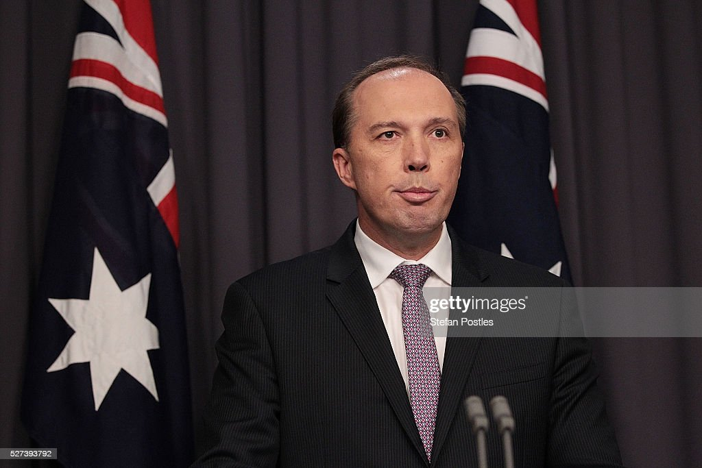 Immigration Minister Addresses Media After Second Refugee Attempts Self-Immolation : News Photo