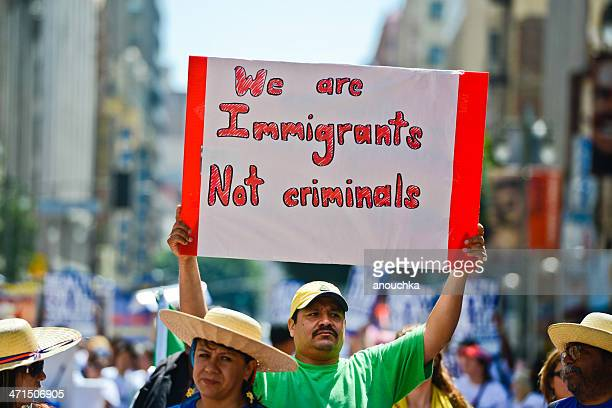 Immigration Reform March, May Day, Los Angeles,