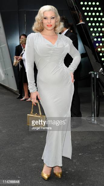 Immodesty Blaise attends the Marie Claire Inspire and Mentor party in association with the Prince's Trust at the W Hotel, Leicester Square on May 17,...