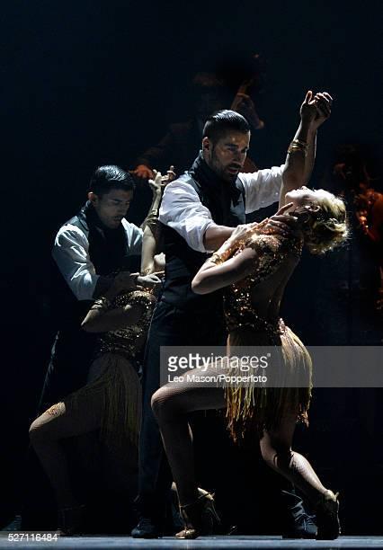 Immortal Tango at The Peacock Theatre London UK Featuring German Cornejo his cast of worldclass tango superstars El Tango de Roxanne