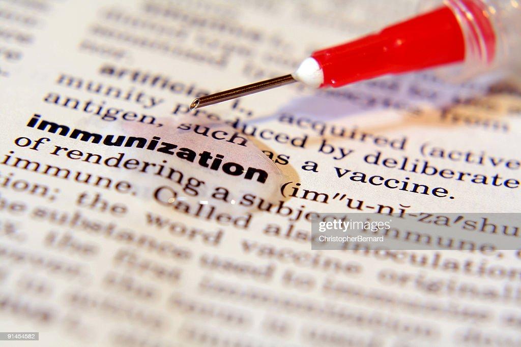 Immunization : Stockfoto