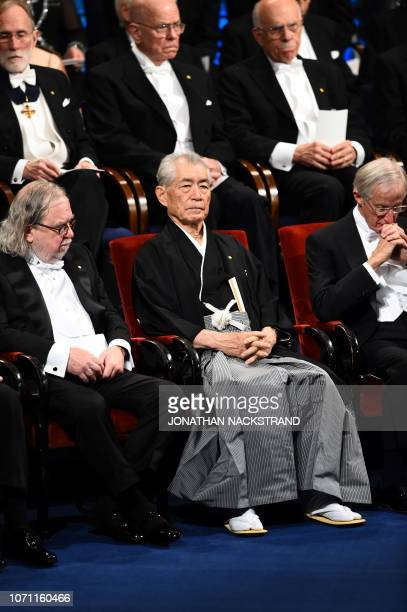 US immunologist and colaureate of the 2018 Nobel Prize in Physiology or Medicine James Allison Japanese immunologist and colaureate of the 2018 Nobel...