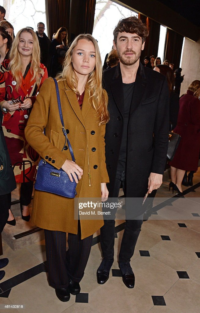 Burberry Prorsum AW15: Front Row & Show - London Collections: Men