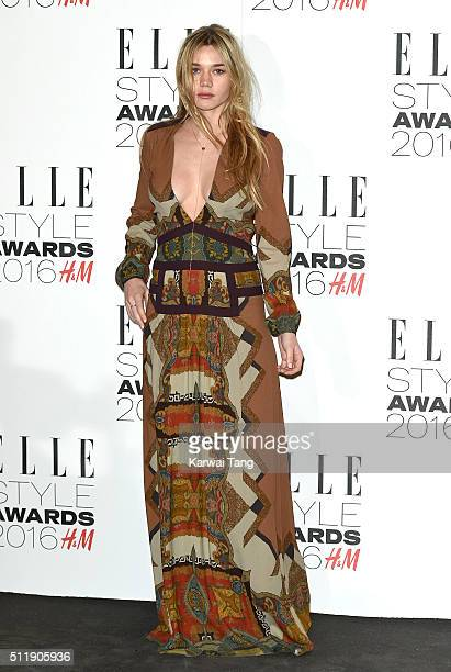 Immy Waterhouse attends The Elle Style Awards 2016 on February 23 2016 in London England