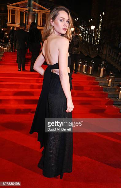 Immy Waterhouse attends The Fashion Awards 2016 at Royal Albert Hall on December 5 2016 in London United Kingdom