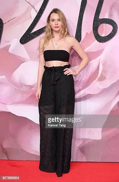 Immy Waterhouse attends The Fashion Awards 2016 at the Royal Albert Hall on December 5 2016 in London United Kingdom