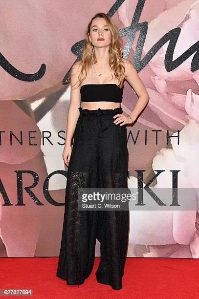 Immy Waterhouse attends The Fashion Awards 2016 on December 5 2016 in London United Kingdom
