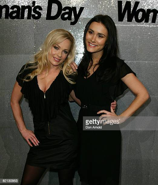 Imogen Bailey and Natalie Blair attend the Women's Day 60th Anniversary Celebrations at the Glass Brasserie on July 31 2008 in Sydney Australia