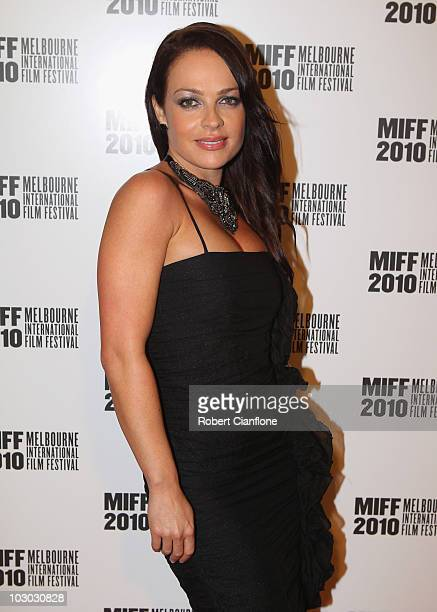 Imogen Bailey attends the opening night premier of The Wedding Party during the Melbourne International Film Festival at the Regent Theatre on July...