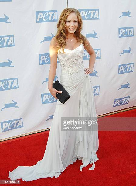Imogen Bailey during 25th Anniversary Gala for PETA and Humanitarian Awards Arrivals at Paramount Pictures in Hollywood California United States