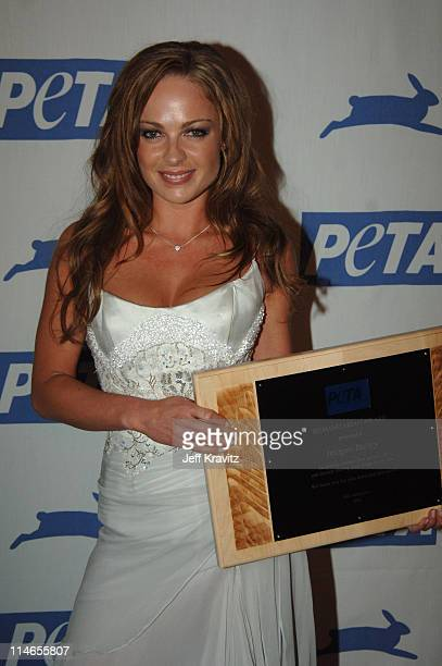 Imogen Bailey during 25th Anniversary Gala for PETA and Humanitarian Awards Press Room at Paramount Studios in Hollywood California United States