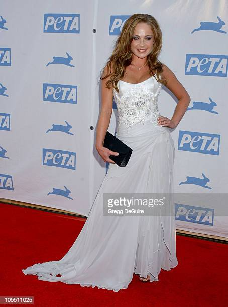 Imogen Bailey during PETA's 25th Anniversary Gala and Humanitarian Awards Show Arrivals at Paramount Studios in Hollywood California United States