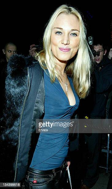 Imogen Lloyd Webber arrives for the ING Renault F1 Team Wrap Party, at the Mayfair Hotel on November 28, 2007 in London, England.
