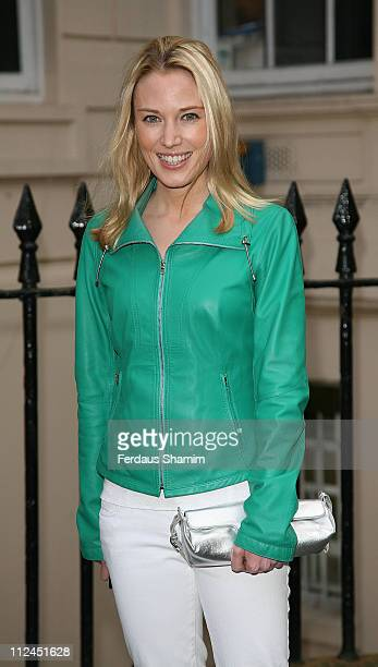 Imogen Lloyd Webber attends the launch of 'PoliticsAndTheCitycom' at ICA on July 8 2008 in London England