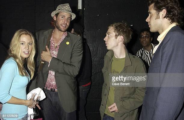 Imogen LloydWebber David de Rothschild Nick LloydWebber and Anthony de Rothschild attend Chris Coco and Sacha Puttnam's performance and party...