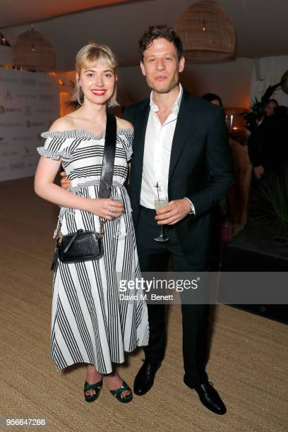 Imogen Poots and James Norton at the Wildlife party presented by Grey Goose and DIRECTV at Nikki Beach, Cannes 2018 on May 9, 2018 in Cannes, France.