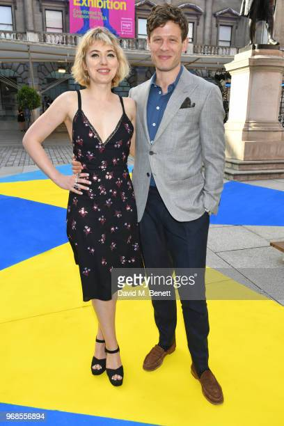 Imogen Poots and James Norton attend the Royal Academy Of Arts summer exhibition preview party 2018 on June 6, 2018 in London, England.