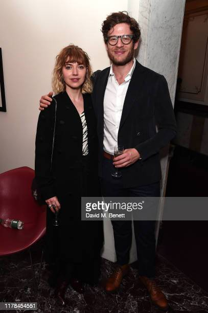 "Imogen Poots and James Norton attends the English National Opera's opening night of the season featuring a performance of ""Orpheus and Eurydice"" at..."