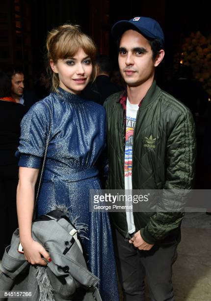 Imogen Poots and Max Minghella attend The Hollywood Foreign Press Association and InStyle's annual celebrations of the 2017 Toronto International...