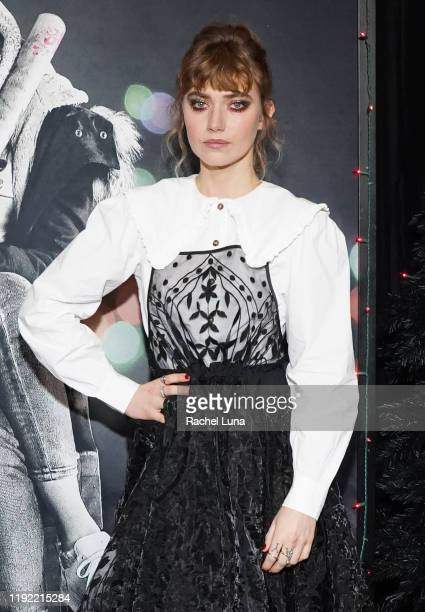 Imogen Poots attends a special screening of Black Christmas at Regal LA Live on December 05 2019 in Los Angeles California