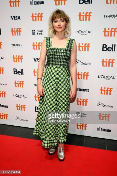 "Imogen Poots attends the ""Castle In The Ground"" premiere during the 2019 Toronto International Film Festival at TIFF Bell Lightbox on September 05,..."