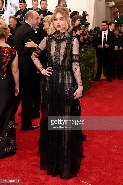 Imogen Poots attends the China Through The Looking Glass Costume Institute Benefit Gala at the Metropolitan Museum of Art on May 4 2015 in New York...