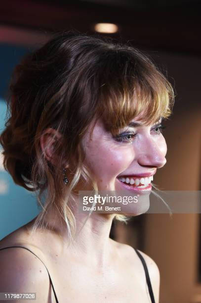 Imogen Poots attends the European Premiere of Vivarium during the 63rd BFI London Film Festival at The Curzon Soho on October 08 2019 in London...