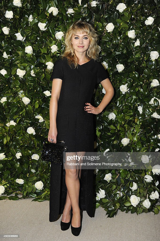 Imogen Poots attends the Museum of Modern Art 2013 Film benefit - A Tribute To Tilda Swinton on November 5, 2013 in New York City.