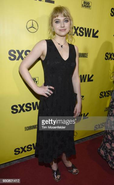 Imogen Poots attends the premiere of Friday's Child at the Paramount Theatre on March 11 2018 in Austin Texas
