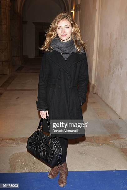 Imogen Poots attends the second day of the 14th Annual Capri Hollywood International Film Festival on December 28 2009 in Capri Italy
