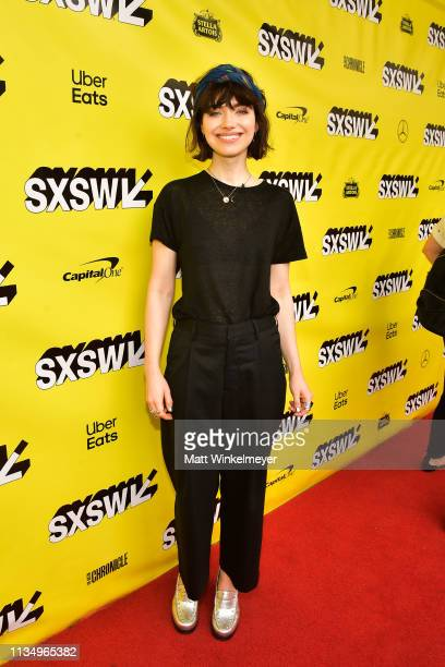 Imogen Poots attends the The Art Of SelfDefense Premiere 2019 SXSW Conference and Festivals at Paramount Theatre on March 10 2019 in Austin Texas