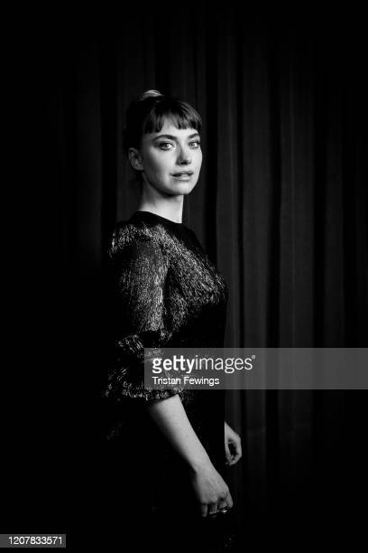 Imogen Poots attends the Vivarium photocall at Curzon Soho on February 21 2020 in London England