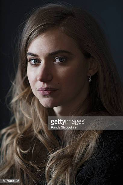 Imogen Poots of 'Frank Lola' poses for a portrait at the 2016 Sundance Film Festival on January 26 2016 in Park City Utah