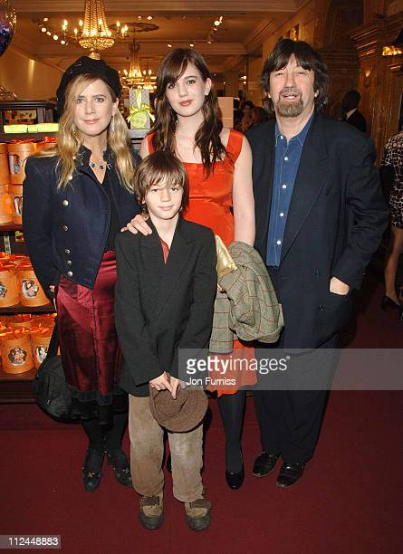 Imogen Stubbs Trevor Nunn and family during 'Becoming Jane' London Premiere Party at Fortnum Mason in London Great Britain